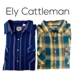 Ely Cattleman Long Sleeve Shirts
